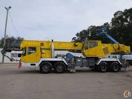 GROVE TMS750B 50 TON HYDRAULIC TRUCK CRANE 110 FEET BOOM PLUS JIB ...
