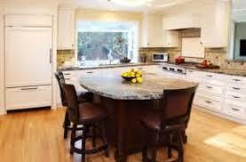 Kitchen Island With Round Table Attached Mytattodesignus 45