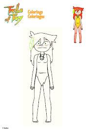 Coloriage Trolls à Imprimer Naturel Coloriage Imprimer Enfant Unique
