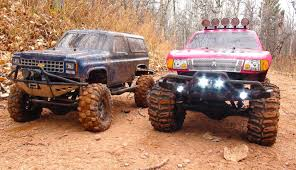 100 4x4 Rc Trucks RC ADVENTURES PiNKY The BEAST COLD CREEK TRAiLING Scale