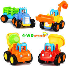 100 Toys 4 Trucks Amazoncom Dreampark Early Educational For 1 2 3 Year