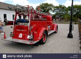 1939 Ford Model Fire Truck At Historic Greenfield Village And Henry ...