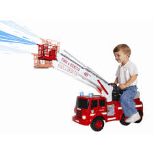 Skyteam Technology Ride-On Action Fire Engine - Walmart.com Fire Truck Electric Toy Car Yellow Kids Ride On Cars In 22 On Trucks For Your Little Hero Notes Traditional Wooden Fire Engine Ride Truck Children And Toddlers Eurotrike Tandem Trike Sales Schylling Metal Speedster Rideon Welcome To Characteronlinecouk Fireman Sam Toys Vehicle Pedal Classic Style Outdoor Firetruck Engine Steel St Albans Hertfordshire Gumtree Thomas Playtime Driving Power Wheel Truck Toys With Dodge Ram 3500 Detachable Water Gun
