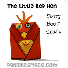 The Little Red Hen Craft For Children From Daniellesplace