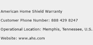 American Home Shield Warranty Customer Service Phone Number