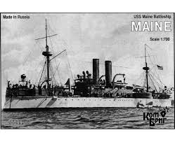 Pictures Of The Uss Maine Sinking by Battleship Uss Maine Battleship Models Com