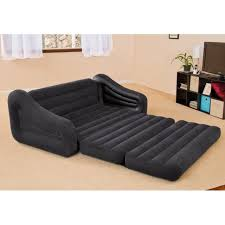 intex inflatable pull out sofa bed mattress sleeper 68566np