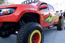 100 Lightning Mcqueen Truck SEMA 2017 Disney Cars Themed LS3 Swapped Chevy Colorado