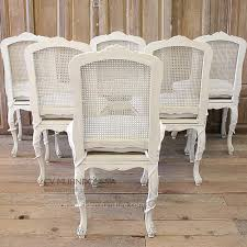 Set Of 6 French Country Dining Chairs | MUI Furniture Refinished Painted Vintage 1960s Thomasville Ding Table Antique Set Of 6 Chairs French Country Kitchen Oak Of Six C Home Styles Countryside Rubbed White Chair The Awesome And Also Interesting Antique French Provincial Fniture Attractive For Eight Cane Back Ding Set Joeabrahamco Breathtaking