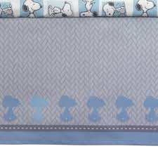 Snoopy Crib Bedding Set by Bedtime Originals Forever Snoopy 3 Piece Crib Bedding