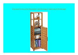 promo relaxdays badregal bambus 6 ablagen badezimmer