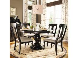 Paula Deen Home Round Dining Table W/ 4 Splat Back Chairs Cm3556 Round Top Solid Wood With Mirror Ding Table Set Espresso Homy Living Merced Natural Wood Finish 5 Piece East West Fniture Antique Pedestal Plainville Microfiber Seat Chairs Charrell Homey Design Hd8089 5pc Brnan Single Barzini And Black Leatherette Chair Coaster 105061 Circular Room At Hotel Hershey Herbaugesacorg Brera Round Ding Table Nottingham Rustic Solid Paula Deen Home W 4 Splat Back Modern And Cozy Elegant Sets