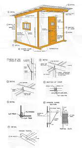 diy lean to storage shed plans discover woodworking projects