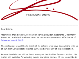 Pumpkin Patch Boulder by Ristorante L Formerly Known As Laudisio Shuttered After Nearly