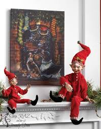 Raz Christmas Decorations 2015 by 238 Best Lutins Coquins Images On Pinterest Elves Christmas