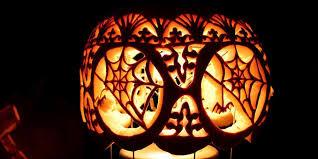 Pulp Fiction Pumpkin Stencil by At Home Pumpkin Carving Ideas Benh Daday U0027s Halloween Site