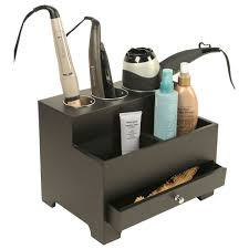 Bed Bath And Beyond Bathroom Cabinet Organizer by Hair Dryer Holders Organizers And Storage Organize It