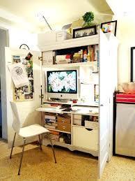 Small White Corner Desk Uk by Computer Armoire Corner U2013 Perfectgreenlawn Com