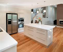 Modern White And Small Kitchen Interior Design