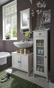 massivholz badezimmer möbel set 3teilig kiefer massiv weiß