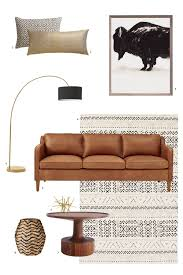 Darrin Leather Sofa From Jcpenney by Hamilton Leather Sofa 81 U0026quot 1950s Furniture Leather Sofas