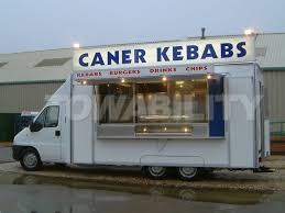 Towability UK Manufacturer Kebab Vans Catering Trailers