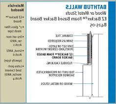 shower tile sealant 盪 cozy ez backer board specification flooring