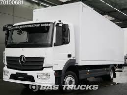MERCEDES-BENZ Atego 1223 L German-truck Ladebordwand Euro 6 Closed ...