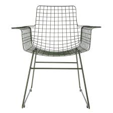 Metal Wire Chair With Arms Army Green - HK Living Contemporary Lounge Chair Leather Metal With Armrests Dc Lounge Chair Metal Arm Dark Grey Vinyl Upholstery Patio Festival Rocking Outdoor Gray Cushion 2pack Baker Living Room Riley Bkrba6584c Walter E Smithe Fniture Design Beige Nova Sled Black Armchair Bequest Accent Gold Martin Eisler Carlo Hauner 1950s And Rope Ottoman Pair Italian Mid Century Chairs With New Modern Newest Europe Sofa Single