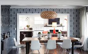 Modern Wallpaper Designs For Dining Room 17 Fabulous With FONHYGT