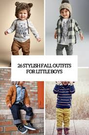 Stylish Fall Outfits For Little Boys Cover