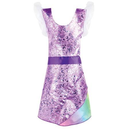 Adorbs Purple Unicorn Dress, Pretend Play Dress Up Costume
