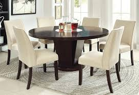 Round Dining Room Set For 6 by Amazon Com Furniture Of America Telstars Round Dining Table With