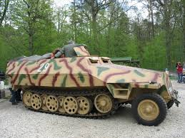 Note The Indside Wheels On SdKfz 251