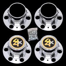 100 Chevy Truck Center Caps GMC 4x4 6 Lug 15x8 15 Rally Wheel Hub Bolt
