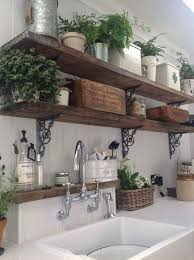 DIY Projects And Ideas For Farmhouse Shelves In Kitchen