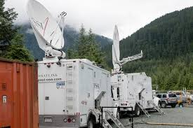 SatTrucks - KTOO Pmtv Sallite Uplink Trucks For Broadcast Live Streaming Trucks At The Coverage Of Timothy Mcveighs Exec Flickr Side Loader New Way The Best To Transmit Data In Really Wired 3d Rendering On Road With Path Traced By Stock Espn Gameday Truck Was Parked Nearby 2012 Us Presidential Primary Covering Coverage Tv News Broadcast Live With Antenna And Sallite Tv Truck Parabolic Frm N24 Channel Media Descend On Jpl Nasas Mars Exploration Program Rear View Of White Television Multiple