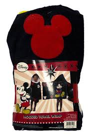 Mickey Mouse Bath Set Hooded Towels by Amazon Com Disney Mickey Mouse Cotton Hooded Towel For Beach