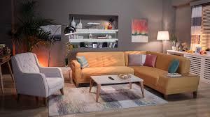 Istikbal Lebanon Sofa Bed by Orleon Corner Set Istikbal Furniture