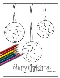 Coloring Book For Adults Printable Christmas Ornaments Digital Adult Page Instant Download PDF