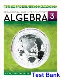 Test Bank For Prealgebra And Introductory Algebra An Applied Approach 3rd Edition By Aufmann