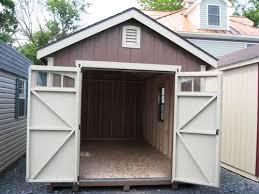 amish built wood siding and vinyl siding prefab storage buildings
