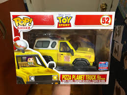 100 Pizza Planet Truck NYCC Exclusive Toys Games Bricks Figurines