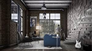 Living Room Industrial Look Furniture Modern Industrial Living