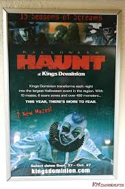 Kings Dominion Halloween 2017 Dates by Kitsuneverse August 2013