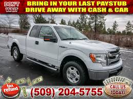 100 2013 Ford Truck PreOwned F150 XLT 50L V8 4x4 4WD SuperCab 145 In