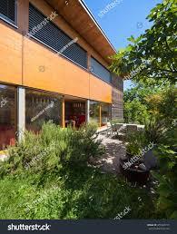 100 Modern Wooden House Design Veranda Stock Photo Edit Now