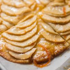 Apple Tart Easy Baked Rustic