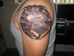 Cool Eagle Tattoo Design