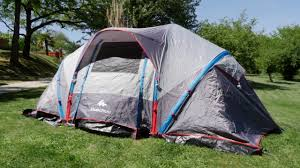 tente 4 places 2 chambres seconds family 4 2 xl quechua quechua air seconds family 4 2 xl